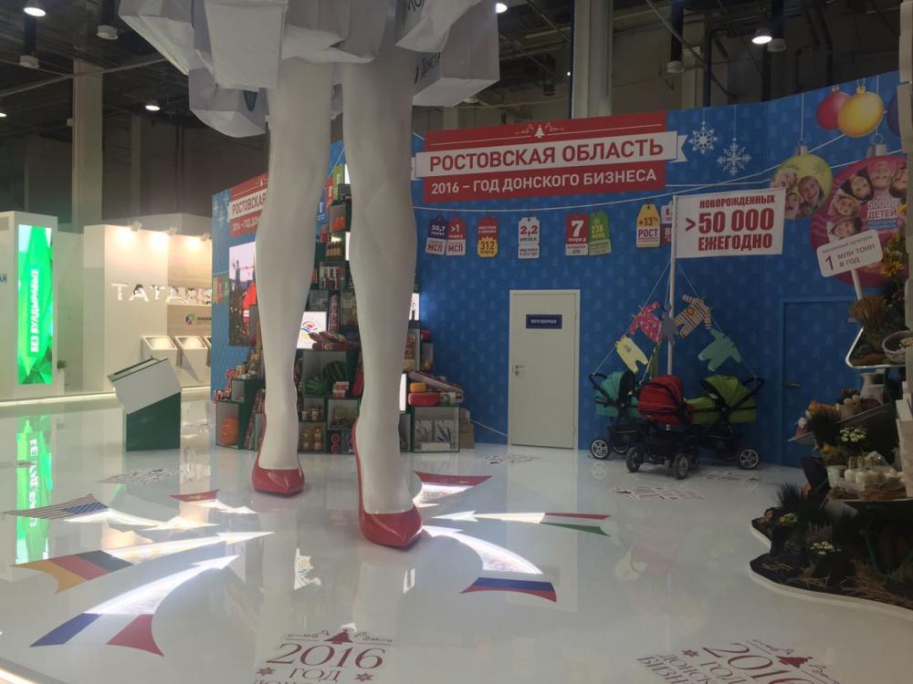 выставка фигур из пенопласта