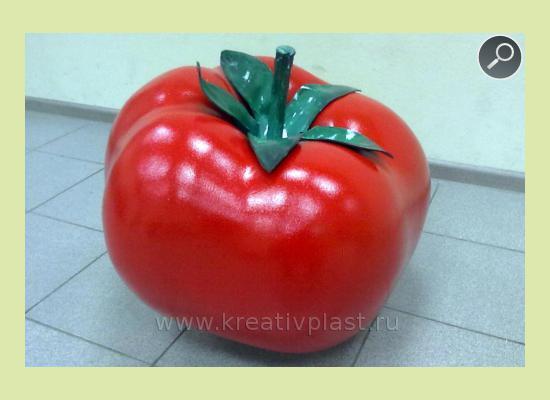 Овощи из пенопласта своими руками 914