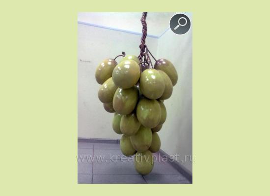 Кисть винограда из пенопласта