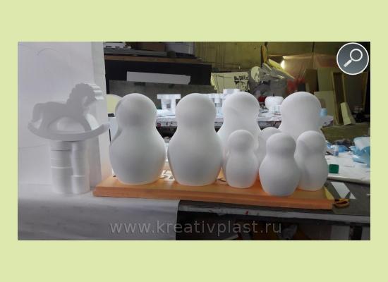 Объёмные фигуры из пенопласта