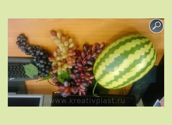 Овощи из пенопласта своими руками 807
