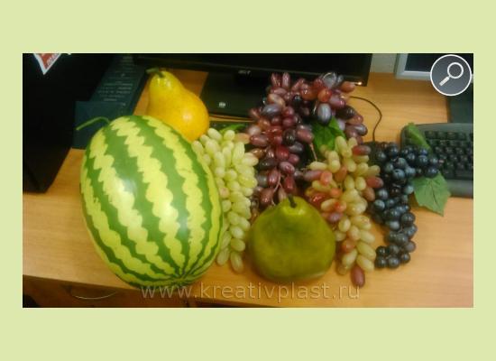 Овощи из пенопласта своими руками 239