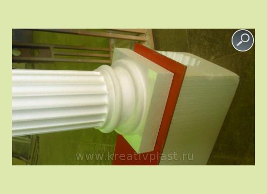 колонны из пенопласта